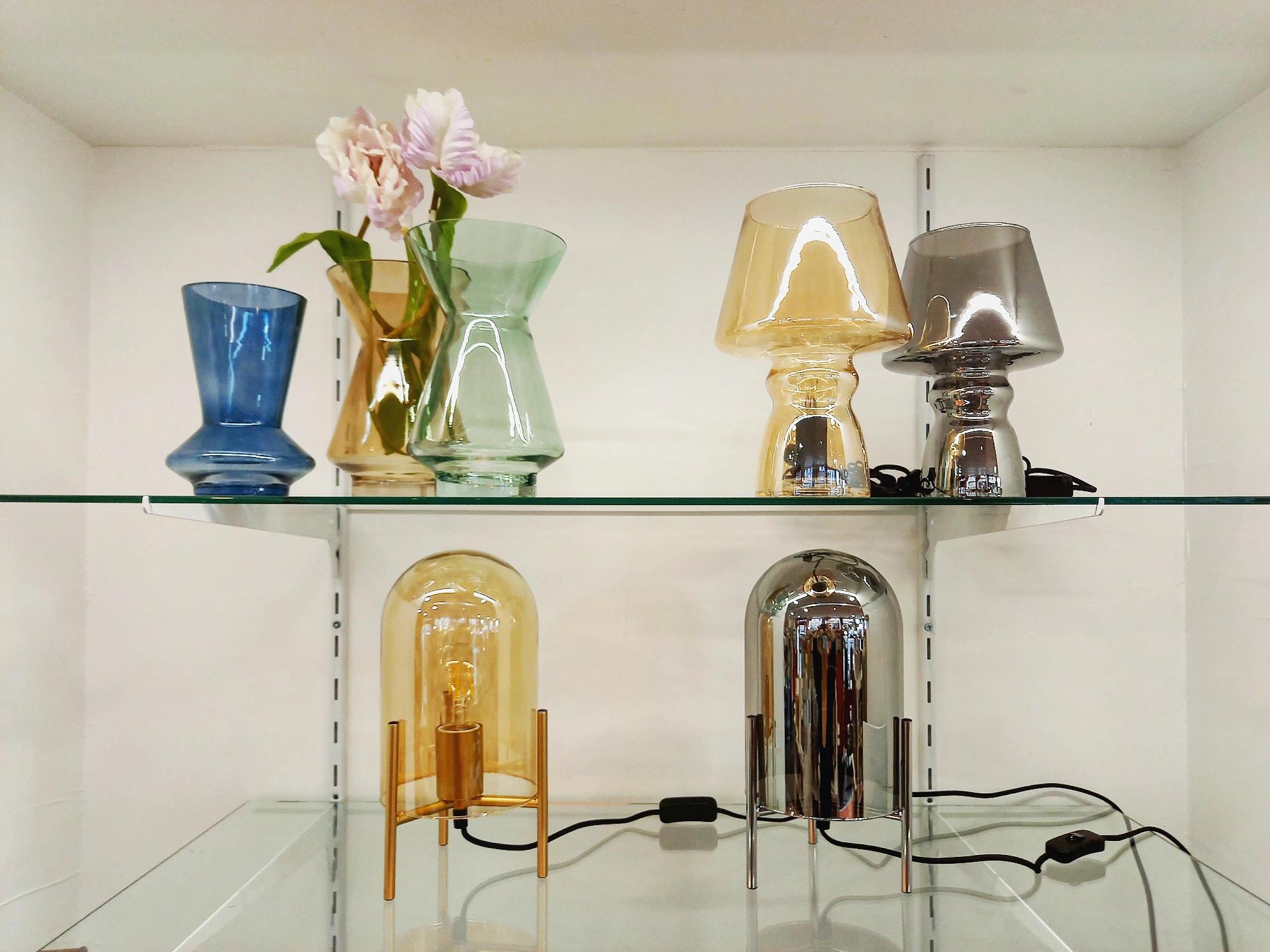 COLLECTION RETRO - lampes et vases